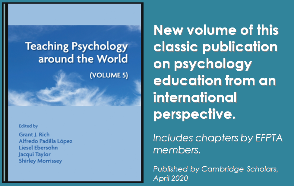 Book Teaching Psychology around the World